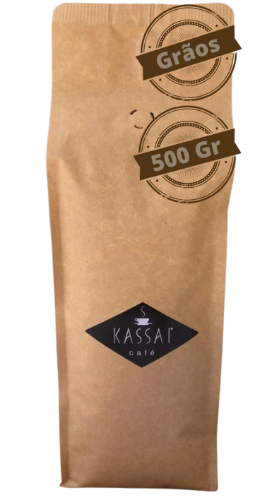 CAFÉ ESPECIAL TORRADO EM GRÃO - 500 Gr