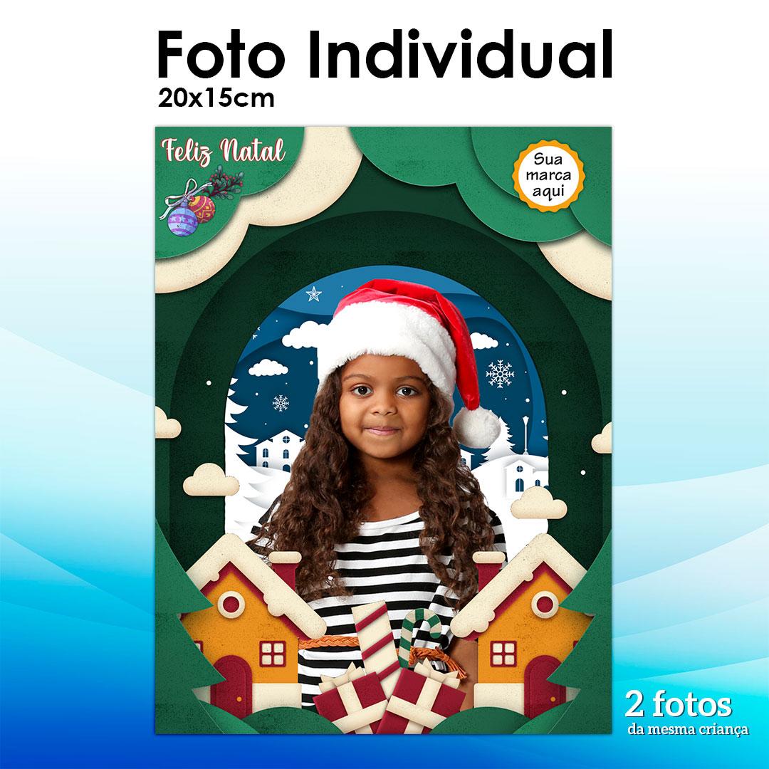 2 Fotos 15x21cm - Tema Natal