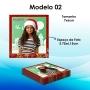 6 Imãs 6x7cm - Natal