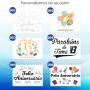 Adesivo Personalização para Balão Bubble - Aniversário