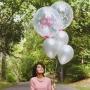 Adesivo Personalização para Balão Bubble - Nome 1