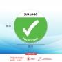 Adesivo de Sinalização - Disponível e Indisponível