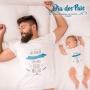 Combo 1 camisa + 1 body - Coleção Pai de 1ª Viagem