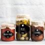 Etiqueta para Pote de Condimento - Arabesco Mista
