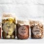 Etiqueta para Pote de Condimento - Transparente Mista