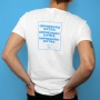 Impressão extra no verso da camisa