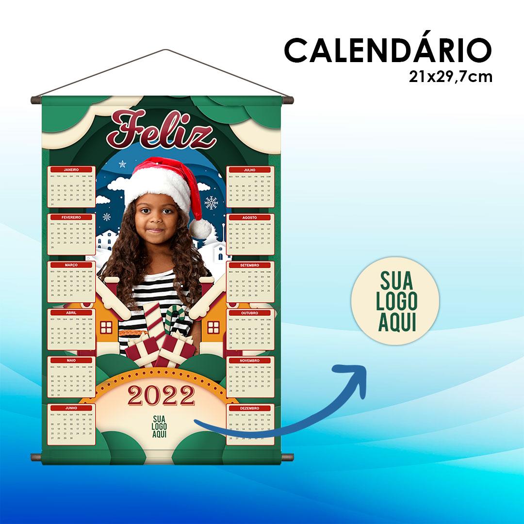 Calendário A4 - Natal