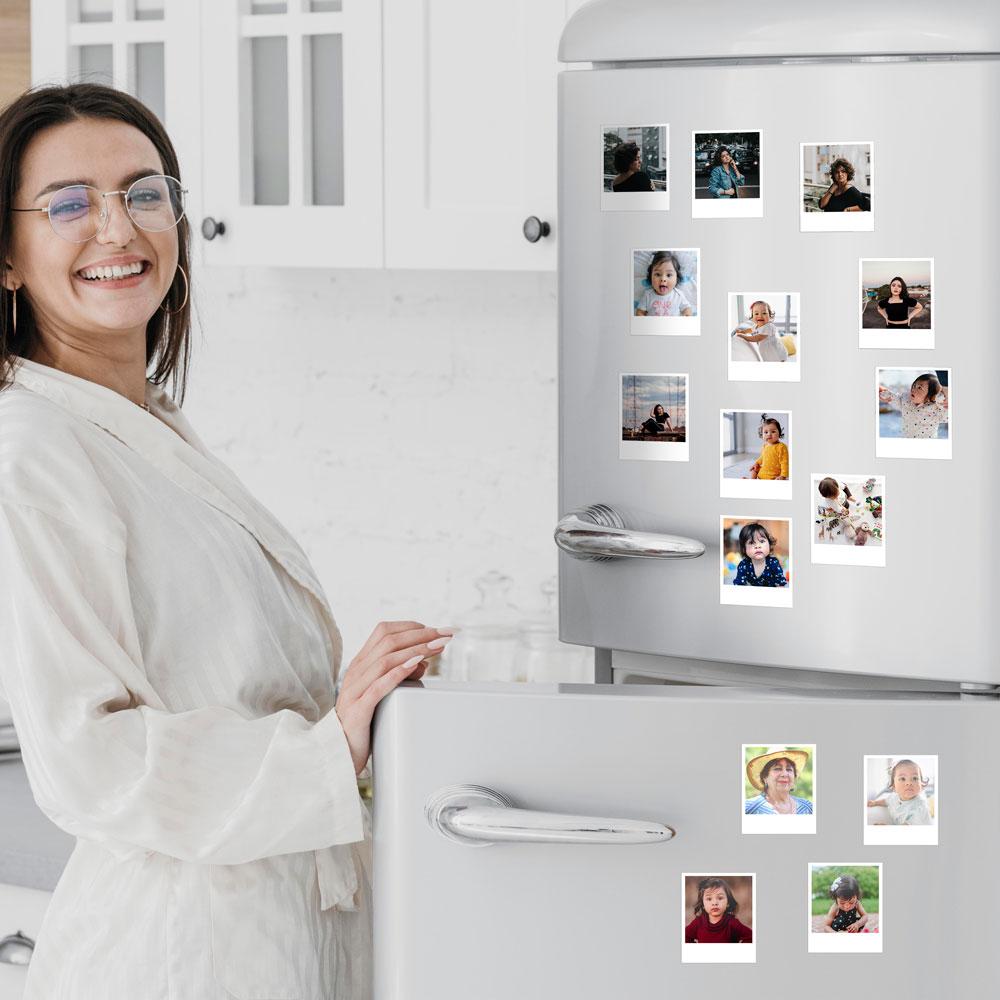 Foto Imã de geladeira - Estilo foto Polaroide SEM legenda
