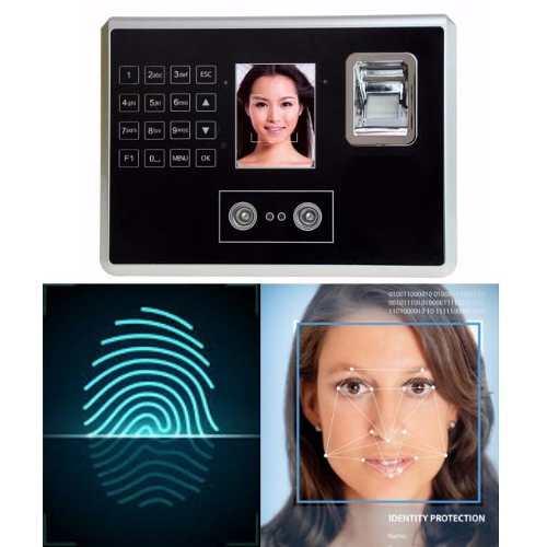 Kit 15 Relogio De Ponto Leitor Facial Biometrico Seguranca