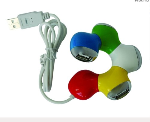 HUB USB 2.0 4 PORTAS USB PARA PC NOTEBOOK NETBOOK ABMIDIA