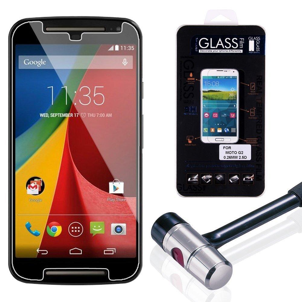 Pelicula De Vidro Temperado Para Moto G2 Smartphone Celular (GHM-MOT G2)