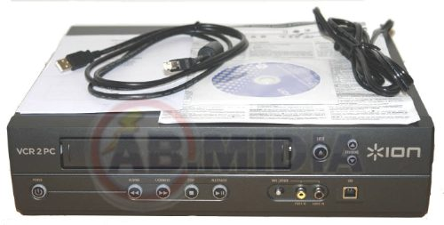 Video Cassete Conversor Vhs P/ Pc Usb - Vcr 2 Pc (VCR2PC)