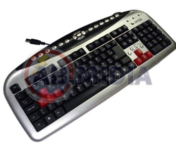 Kit Leadership Mouse Optico Usb Teclado Usb Gamers Fighter