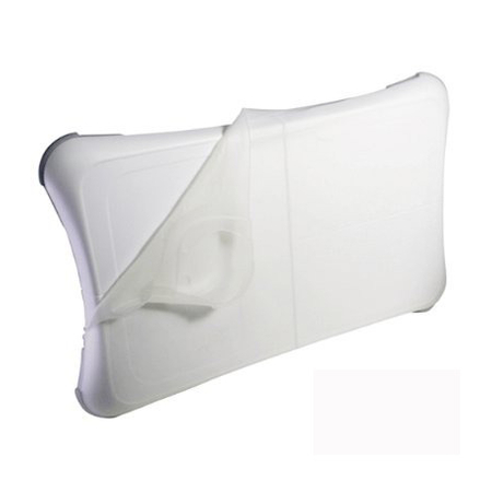 Capa Case Bolsa Wii Fit Board Silicone Massageador Colorido (HYS-W094)