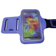 Capa Suporte De Braço Celular Samsung Galaxy S3 S4 S5 iPhone Corrida Azul (S-30705)