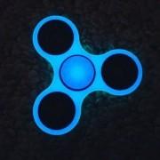 Fidget Hand Spinner Neon Fluorescente Anti Estresse Ansiedade Giro Azul (BSL-GIRA-2)