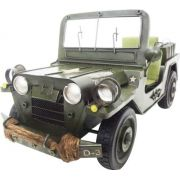 Jeep Vintage Retro Do Exercito Americano De Ferro Fundido 28cm (CJ-005)