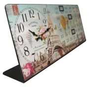 Relogio Calendario De Mesa Paris Vintage Retro Decoracao (XIN-06)