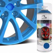Spray de Envelopamento Liquido Automotivo Carro Azul Fluorescente (AU428)