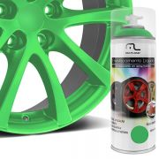 Spray de Envelopamento Liquido Automotivo Carro Verde Fluorescente (AU425)