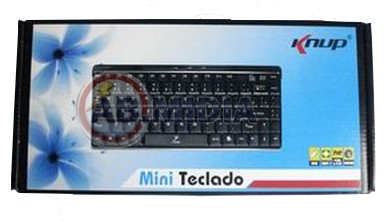 Mini Teclado Abnt2 Usb Windows Plug & Play