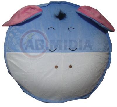 Puff Puf Pufe Sofa Banco Bichinho Infantil Inflavel Bomba