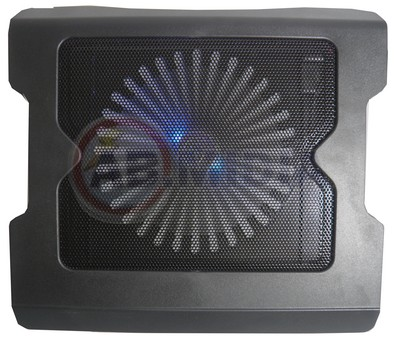 Suporte Cooler Pad Led Azul Acessorio P/ Notebook Netbook