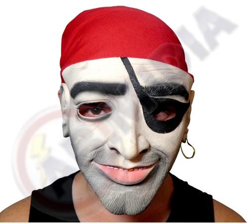 Mascara Pirata Fantasia P/ Festas Bailes Halloween Carnaval