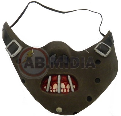 Mascara Hannibal Canibal Fantasia P Carnaval Folia Halloween