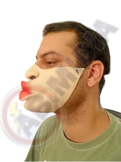 Mascara Beijo Fantasia Festa Baile Halloween Carnaval Blocos