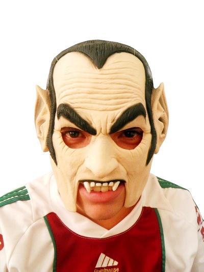 Mascara Dracula Fantasia Festas Bailes Ralloween Carnaval