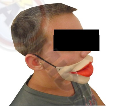 Mascara Labios Acessorio Fantasia P Carnaval Halloween Bloco