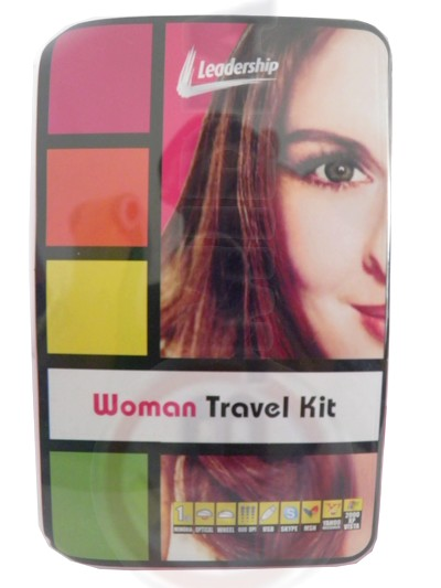 Kit woman travel notebook netbook laptop mouse web can case