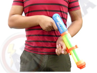 Pistola Atirador Jato Agua Brinquedo Infantil Criança 400 Ml