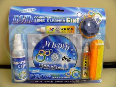 Kit completo para limpar leitor CD DVD e Computador limpeza