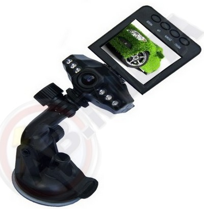 Camera Digital Filmadora Automotiva Carro Visao Noturna Leds CAHD (472)