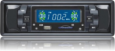Radio automotivo Mp3 player usb cartao memoria sd mmc fm som PC-308