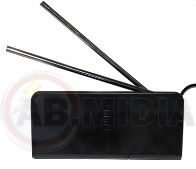 Antena Digital Tv Interna Receptora Televisao Dtv Philips (SDV1225T/55)  #A3.2