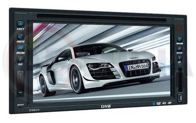 Dvd Player Automotivo Double Din Bluetooth Touch Screen Lcd (DS6110 #B2.1)