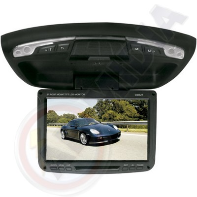 Monitor teto LCD automotivo veiculo USB cartao SD 9p DVD GPS (DS9MT)
