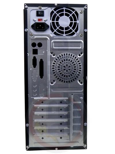 Gabinete Com Fonte 4 Baias Computador Pc 200w Multilaser Led (GA063)