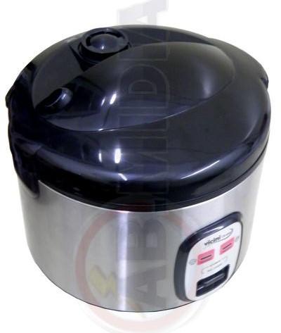 Panela Eletrica A Vapor Arroz Vicini Inox 6 Xicaras Cozinha (EPV-891)