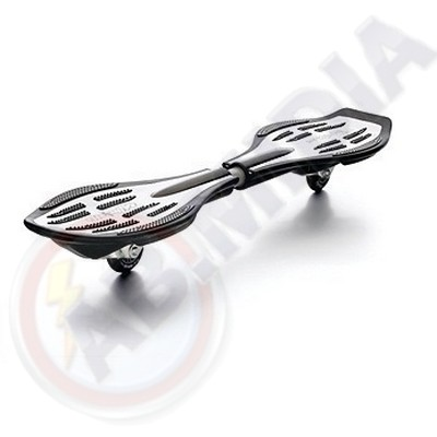 Roda Skate Wave Board Patins 80mm Avulsa Leds Coloridos Luz