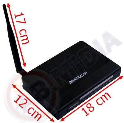 Roteador Wireless Modem Adsl2 Access Point 150 Mbps Internet (RE033) #A