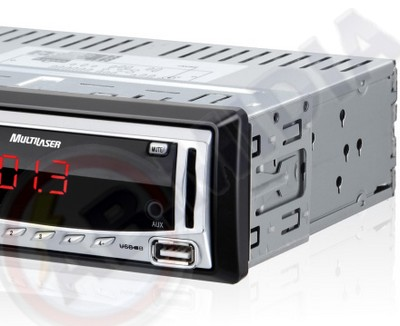 Radio Automotivo Carro Mp3 Player Fm Usb Pen Drive Cartao Sd (P3167)  # C  2.1   ok
