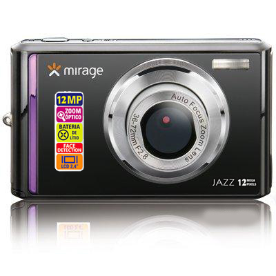 Camera Digital Filmadora Audio 12mp Bateria Lcd D 2,4 Mirage (DC074) #E3.1