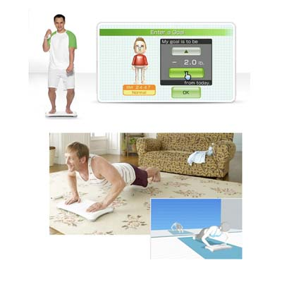 W-Fit Balance Board para Wii Sensor Movimento Multilaser (JS055)