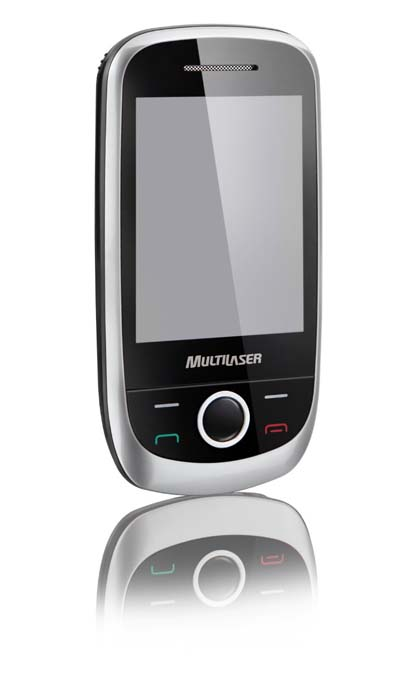 Celular Multilaser 3 chips TV Digital e Analogica Camera 3.0  Tela Touchscreen 2,8´ Bluetooth  Mp3 Player (P3162)