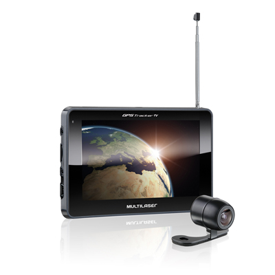 GPS 7 polegadas com Camera de Re TV Digital transmissor FM SD USB (GP017)