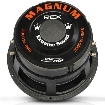 Subwoofer Magnum Bass  12 Polegadas 3000w Rms Alto Falante Som automotivo (AF12rex3000)